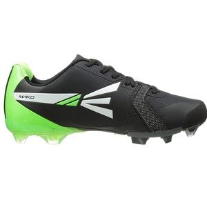 EASTON MAKO TPU BLACK GREEN CLEAT- Shoe